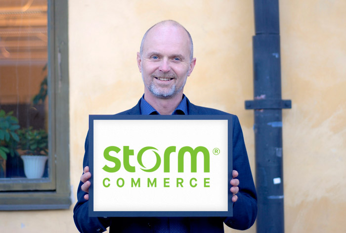 Stefan Sånnell, CEO Storm Commerce