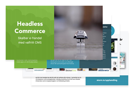 Headless Commerce presentation